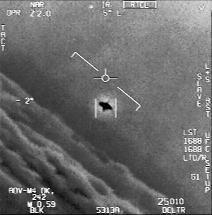【◯スポ】 米軍、UFO撮影に成功か!?
