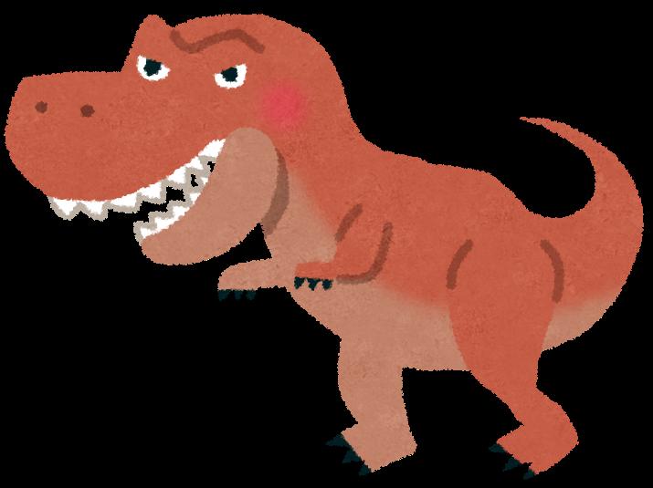 【肉食恐竜】Tレックスの歩行速度、驚くほど遅いww 人間でも汗をかかずに付いていける速度